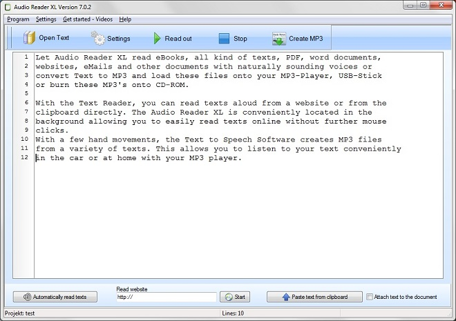 Great Text to Speech Software for PC